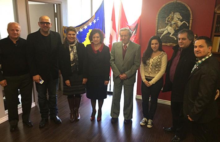 MPP Laura Albanese viziton zyrat e Shoqatës