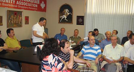 Takimi i përgjithshëm me anëtarët e Shoqatës sonë