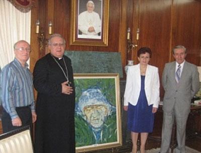 Piktura Pema e jetës dërgohet nga Toronto në Vatikan