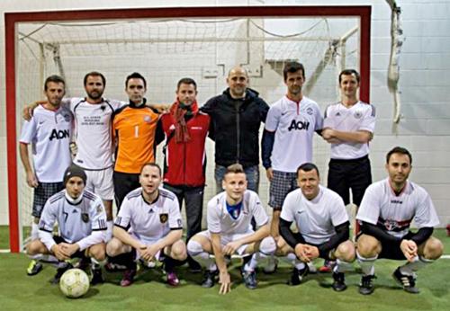 Kampionati miqësor i futbollit në Hamilton midis shoqatave shqiptare