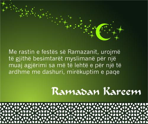 Urimi për muajin e Ramazanit