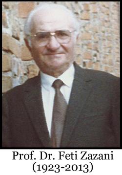 Përkujtimore në nderim të Prof. Dr. Feti Zazanit