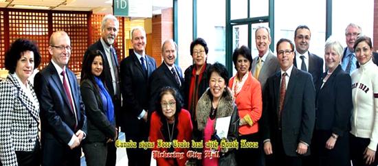 Dr. Ruki Kondaj merr pjesë në një takim në bashkinë Pickering